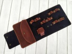Organizer-Pouch for wires-Pouch for charger- Organizer for accessories-Road Organizer-Handmade-Leather-Personalization Cable Cover, Crazy Horse, Charger, Pouch, Wire, Organization, Awesome, Leather, Handmade