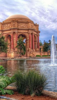 San Fancisco Architecture : Palace of Fine Arts, Marina District, San Francisco, California Oh The Places You'll Go, Places To Travel, Places To Visit, Travel Destinations, San Francisco Travel, San Francisco California, California California, Outside Lands, Palace Of Fine Arts