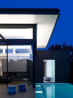 Melbourne-based studio Steve Domoney Architecture has designed the Power Street Residence.- Australia