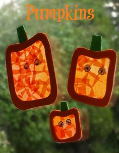 Pumpkin Halloween Decorations an easy halloween craft for kids