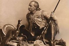 Buffalo Bill Cody—a legend in his own time, and in ours.-- via True West Magazine