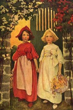 Snow White and Rose Red by Jessie Willcox Smith