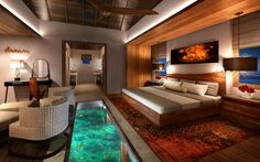 These Overwater Hotel Suites Are INSANE (& All-Inclusive!)+#refinery29