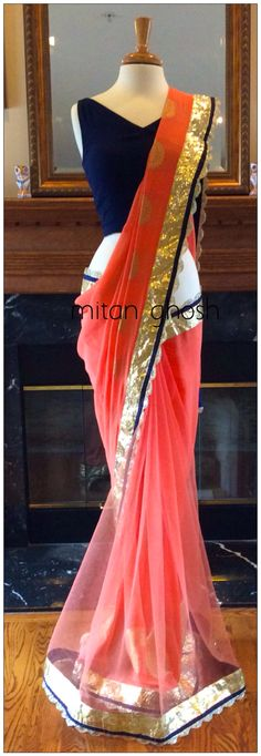 Indian Wedding Outfits, Indian Outfits, Beautiful Saree, Beautiful Dresses, Desi Clothes, Indian Clothes, Saree Collection, Trendy Collection, Elegant Saree