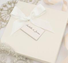 Cajas de invitación de boda