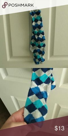 Blue Argyle socks I wore these a few times when I wore uniforms!  The print is great for a cute touch to any outfit!  Make an offer? 2Chillies Accessories Hosiery & Socks