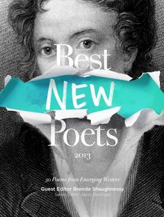 Best New Poets 2013 / Book cover design