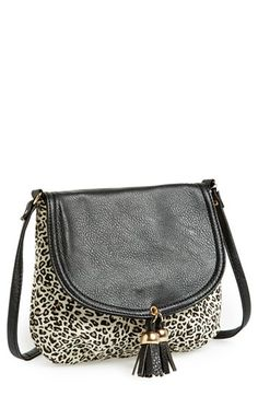 Amici Accessories Tassel Crossbody Bag (Juniors) available at #Nordstrom