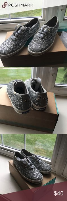 Keds / Kate Spade Glitter Brand New Keds For Kate Spade - perfect for any occasion!! Keds Shoes Sneakers
