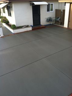 pattern in concrete driveway | Early Acres Front Porch | Pinterest ...