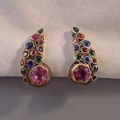 Hobe comma shaped earrings from MorningGloryJewelry.com : Buy online now for $78.00