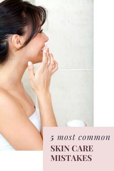 #1 top skin care mistake world wide is not using an SPF -protect and treat-