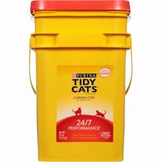 Tidy Cats Clumping Litter 24/7 Performance for Multiple Cats 35 lb Pound Purina #TIDYCATSCLUMPING