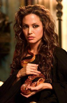 Angelina Jolie as Olympias in 'Alexander'.