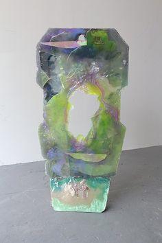 Amy Brener Element (back) Modern Art Sculpture, Abstract Sculpture, Abstract Art, Trash Art, Textile Artists, Resin Art, Installation Art, Cool Art, Contemporary Art