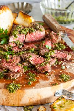 A recipe for Hatch Chili Chimichurri on LouiseMellor.com