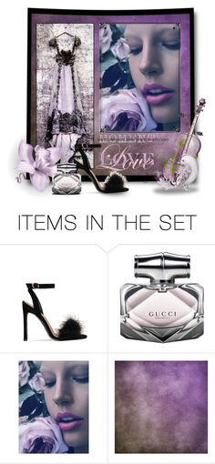 """""""Lilac Love"""" by ladydivaboss ❤ liked on Polyvore featuring art, purple, lavender, lilac, february and 2017"""