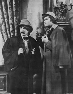 The Monkees (Davy Jones  Micky Dolenz) going all Holmes and Watson on their TV series!