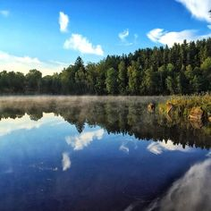 Still water + mist = nice photo #hundsjön #svängsta #forest #forest_masters #tree_magic #tree_captures #reflection #stillwater #misty #mistymorning #loves_sweden #naturfoto #naturelovers #fotofanatics #fotofanatics_nature_ #ig_scandinavia #igscandinavia #ig_exquisite #ig_sweden #ig_reflection #ig_masterpiece #visitblekinge #visitsweden #hejcommersen #forest_gallery