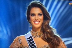 Iris Mittenaere Druart se coronó como la nueva reina del universo. Miss Haití fue la primera finalista y Colombia la segunda. 29 de enero 2017.