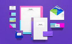 Candy coloured brand identity feel desain Amado03