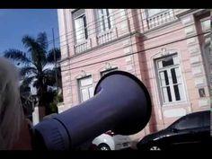 Janette PROTESTA dia 28 7 14  UCPel = MUSICA FORMATURA