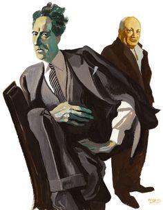 Jean Cocteau par Manuele Fior