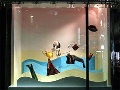 Visual: HERMES - Vidrieras de Tokyo