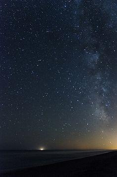 'no line on the horizon' - captura nocturna desde la playa de Trinitat, en el Delta de l'Ebre. Más fotos en mi flickr o www.xavitalleda.com
