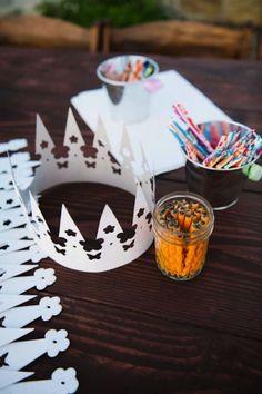 Kids Table Wedding, Wedding With Kids, Wedding Reception, Our Wedding, Kids Wedding Ideas, Kids Wedding Favors, Wedding Games For Kids, Trendy Wedding, Wedding Crowns
