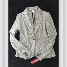 Grey Blazer Brand new Super cute blazer with tags. Grey size xs. Perfect for going out or for work Merona Jackets & Coats Blazers