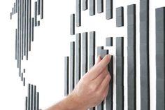 The Box // 800 Tiles (Black) - Wallz Copenhagen - Touch of Modern
