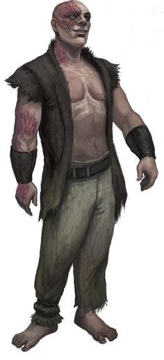Dargley, from The Weeping Blade: http://paizo.com/pathfinder/tales/serial/theWeepingBlade