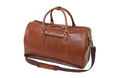 This smart leather holdall is ideal for holidays or short weekend breaks away. Weekend Breaks, Travel Bags, Holidays, Luxury, Leather, Accessories, Travel Handbags, Holidays Events, Travel Tote