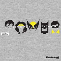 Camiseta 'Disfarça...' - Catalogo Camiseteria.com