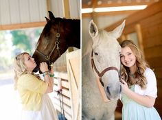 Senior pic with horse