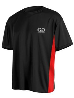 PT803PS Mens and Ladies Dry Fit Short Sleeve Workout Gym Shirt with Side Panels-Made with Moisture Management and Odor Reducing Performance Material-Colors Include Black, Red, White, Navy, and Royal Blue-Sizes SM-XXXL « Clothing Impulse