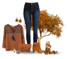 """""""Save Your Acorns"""" by gemique ❤ liked on Polyvore featuring MANGO, Sole Society, Tony Bianco, Michael Kors and Kenneth Jay Lane"""