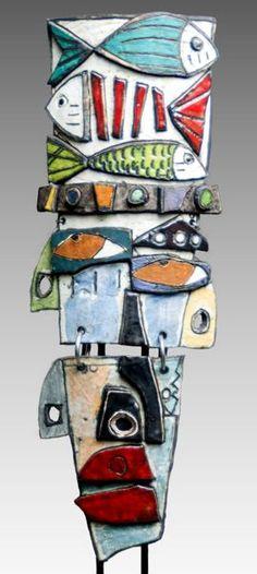 Kimmy Cantrell Ceramic Sculpture: