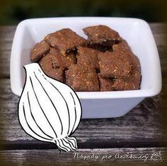 Cibulové krekry - rychlé, zdravé a chutné | Nápady pro Aničku.cz Almond, Menu, Cookies, Recipes, Food, Menu Board Design, Crack Crackers, Biscuits, Essen