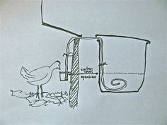 I promised you a bit more detail on my DIY chicken waterers. These are both easy projects, with cheap or scavenged materials. Let's start with the more standard version. This gallon sized bucket wa...