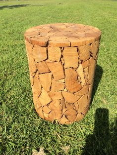 Teak stool#waterfeaturesdirect.com.au# Garden Accessories, Water Features, Teak, Stool, Table, Home Decor, Water Sources, Decoration Home, Room Decor