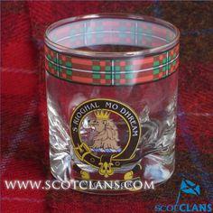MacGregor Clan Crest Glass