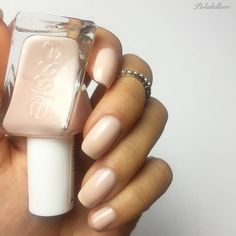 when you wish upon a star, this sheer nude pink swoops in to make all yourdreams come true. really. essie gel couture 'fairy tailor' from the 'atelier' collection.