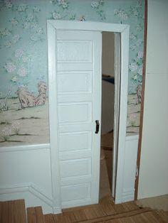 Linchen's Little Cottage: Tutorial pocket door