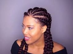 How to make an african braid - Tut and models Among the various cuts associated with afro hair, the braids are a very recurrent element. Whether they are woven naturally and directly from the hair. Natural Haircut Styles, Curly Hair Styles, Faux Locs Styles, Type 4 Hair, African Braids, Natural Hair Journey, Afro Hairstyles, Braid Styles, Hair Inspo