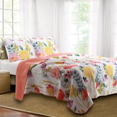 Found it at Wayfair - Sali Reversible Quilt Set