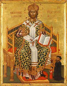 "Christ, ""The Great High Priest"" – Damascene Gallery Life Of Christ, Christ The King, Jesus Christ, Savior, Byzantine Icons, Byzantine Art, Christ Pantocrator, Constantine The Great, Religion"