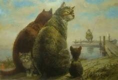 Painting by Vladimir Rumyantsev