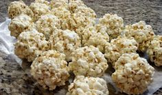 Aunt Peg's Recipe Box: Soft and Chewy Popcorn Balls